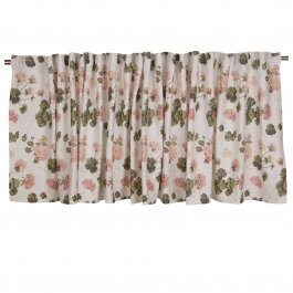 Pelmet Esther mini, Pink 55 x 250 cm