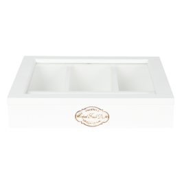 Cutlery tray Country, White