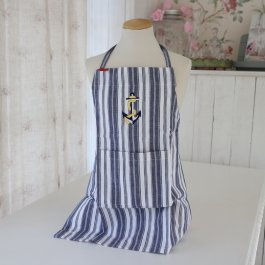 Childrens Apron Anchor, 45 x 55 cm