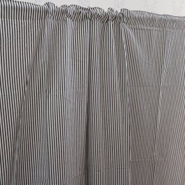 Curtain Carl, Black/white 120 x 250 cm