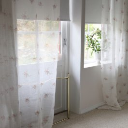 Curtain ShearAlice off-white, 110 x 250 cm