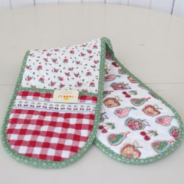 Pot Holder doublehanded Cottage Garden,