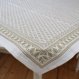 Tablecloth Antibes, gold  90 x 90 cm