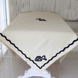 Tablecloth Fish, 150 x 250 cm