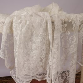 Tablecloth Inger lace, Offwhite 140 x 250 cm