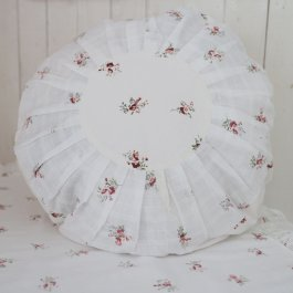 Pillowcase Eliza, round 45 cm