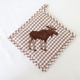 Pot holder Elk, 20 x 20 cm