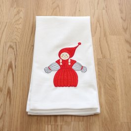 Kitchen Towel Garntomte Girl, white 50 x 65 cm