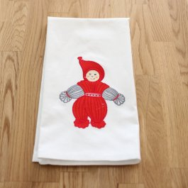 Kitchen Towel Garntomte Boy, white 50 x 65 cm