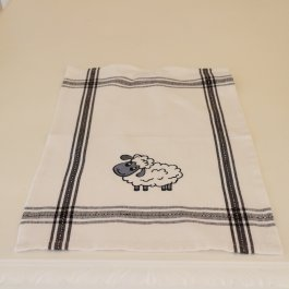 Kitchen towel Sheep, 30 x 45 cm