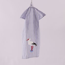 Kitchen towel Stork striped, 30 x 45 cm