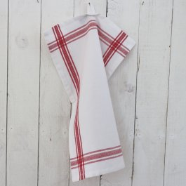 Kitchen towel Dobby red, 30 x 45 cm