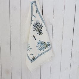 Kitchen towel Blue Lavender, 40 x 60 cm