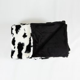 Throw Cow, Faux Fur 140 x 180 cm