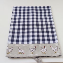 Kitchen towel Farmstyle, Blue 50 x 70cm