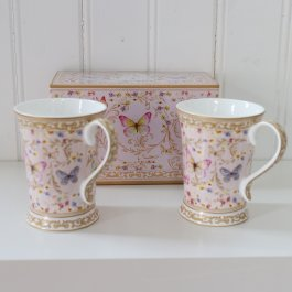 Mugs Butterfly, Giftbox 2 psc
