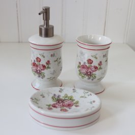 Bathroom set Pretty, 3 pcs