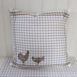 Cushion coverFarm Rooster, 40 x 40 cm