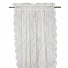Tablecloth Inger lace, Linenbeige 140 x 250 cm
