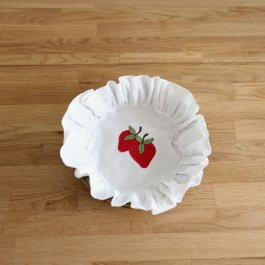 Cloth for breadbasket Strawberry, 20 cm
