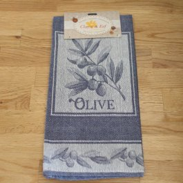 Kitchen towel Olive blue, 50 x 70 cm
