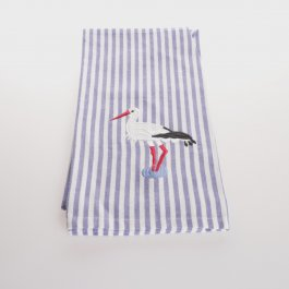 Kitchen towel Stork striped, 50 x 65 cm