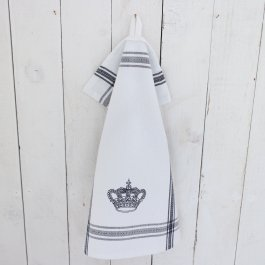 Kitchen towel crown blue dobby, 30 x 45 cm