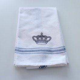 Kitchen towel crown blue dobby, 50 x 65 cm