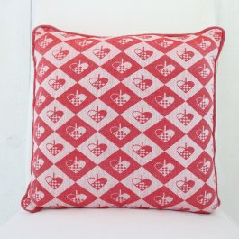 Pillow christmas basket Jacquard, 40 x 40 cm