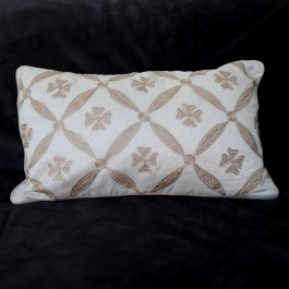 Pillowcase Versailles, Offwhite 30 x 50 cm