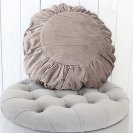 Pillowcase Velvet, round