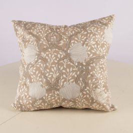 Pillowcase Magnolia, beige 45 x 45 cm