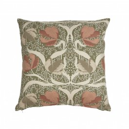 Pillowcase Pimpernel, Pink/green 45 x 45 cm