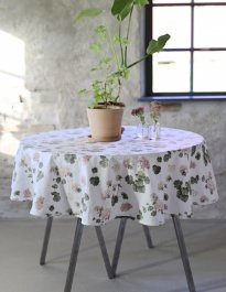 Tablecloth Esther mini, Pink  Ø 145 cm