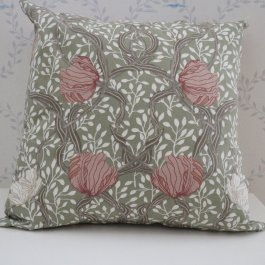 Pillowcase Magnolia, Green  45 x 45 cm