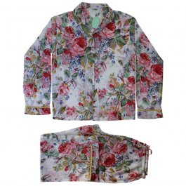 Pyjamas Floral Lemon, 2 stl