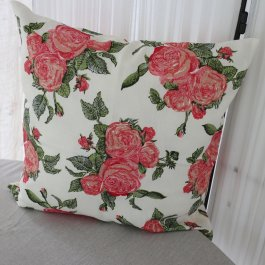 Pillowcase Roses, 45 x 45 cm