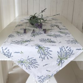 Tablecloth blue Lavender 50 x 160 cm