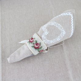 Napkingring rose-2 pcs