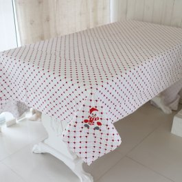 Tablecloth Snowman, 150 x 250 cm