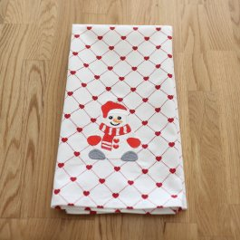Kitchen Towel Snowman, 50 x 65 cm