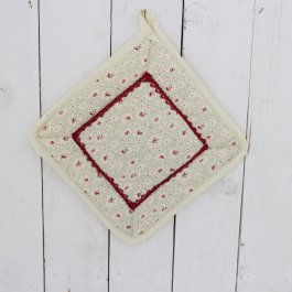 Pot Holder Sweetheart, 23 x 23 cm