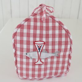 Tea Cozy Bistro, red