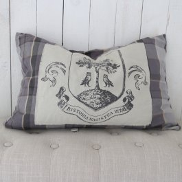 Cushion cover Tweed grey, 40 x 60