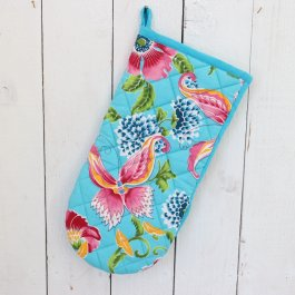 Oven Glove West Indian, 18 x 34 cm