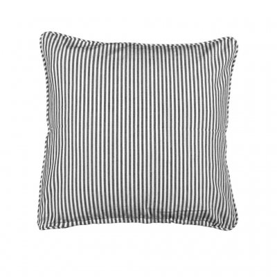 Pillowcase Carl, Black/white 45 x 45 cm