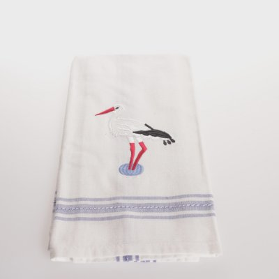 Kitchen towel Stork Dobby blue, 50 x 65 cm
