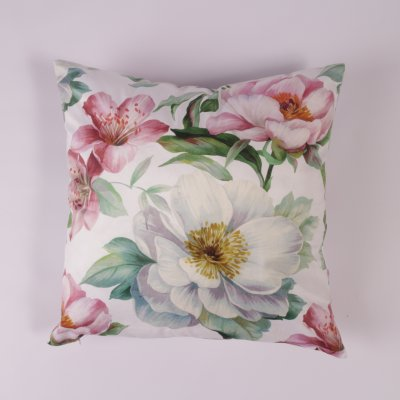 Pillowcase Flowers, 45 x 45 cm